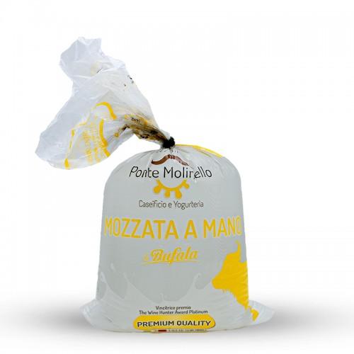 Mozzarella spezzata a mano